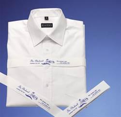 Skjortebånd med illustrerende skjorte