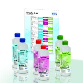 Produktflasker sett