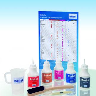 flasker med produkt og bruksanvisning