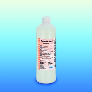 flaske med produkt