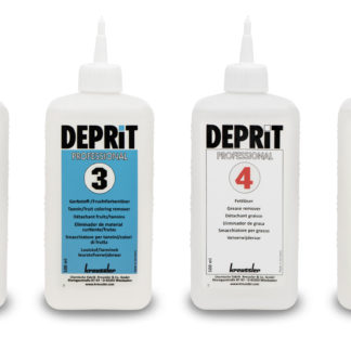 Flasker med produkt